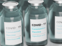 Bottles of Covid19 vaccine